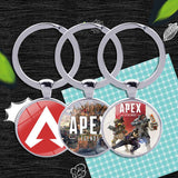 Apex Legends Glass Ring Keychain
