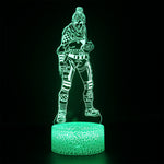 Apex Legends Wraith Green LED Lamp