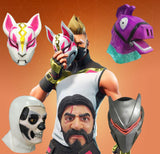 Fortnite Battle Royale Latex Masks
