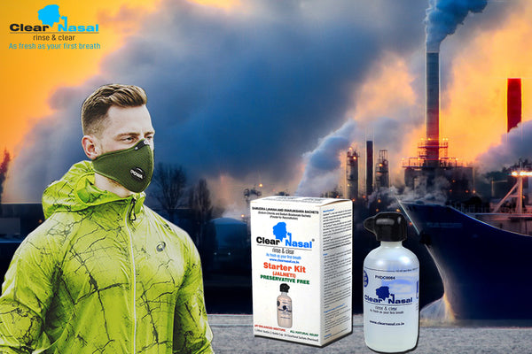 How to keep your nose healthy amidst the pollution?