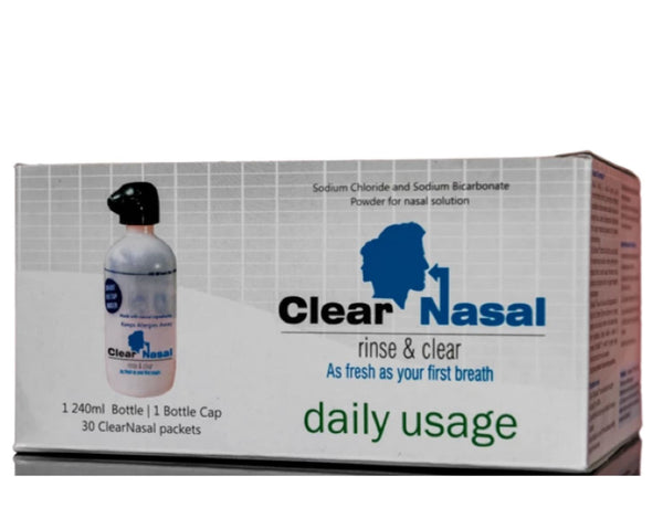 ClearNasal – The Best Nasal Irrigation Device Kit
