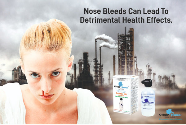 Why do nosebleeds occur?
