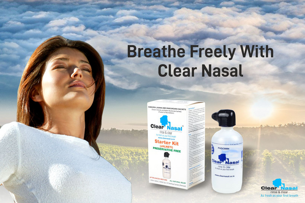 Cure of Sinus Using Neti Pot and other Methods