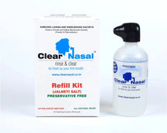 ClearNasal - Jal Neti Salt - Refill Kit ( Contains 50 Sachets)