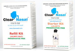 ClearNasal - Jal Neti Kit Starter Kit For 1 (60 day kit)