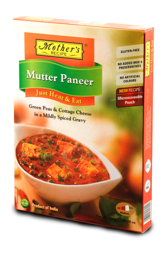 Mothers Mutter Paneer 300g