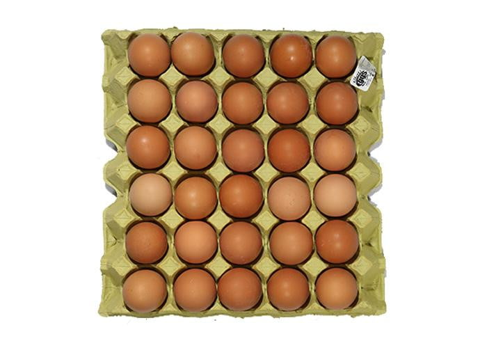 Loose Tray Size 6 Eggs 30 Pack
