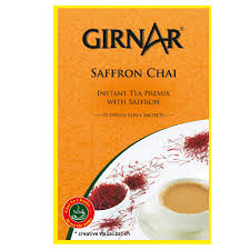 Girnar Saffron Chai 10 Single Serve Sachets