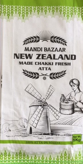Mandi Bazaar Chakki Atta (Made in NZ) 5Kg