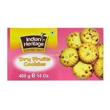 Indian Heritage dry fruit cookies 400g