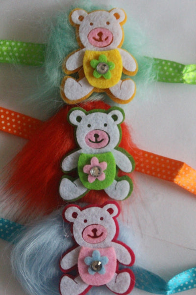 Soft Teddy Bear Rakhi Single