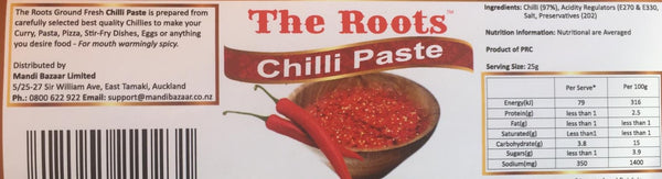 The Roots Red Chilli Paste 960g