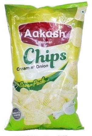 Aakash Chips Cream n Onion 150g - MandiBazaar