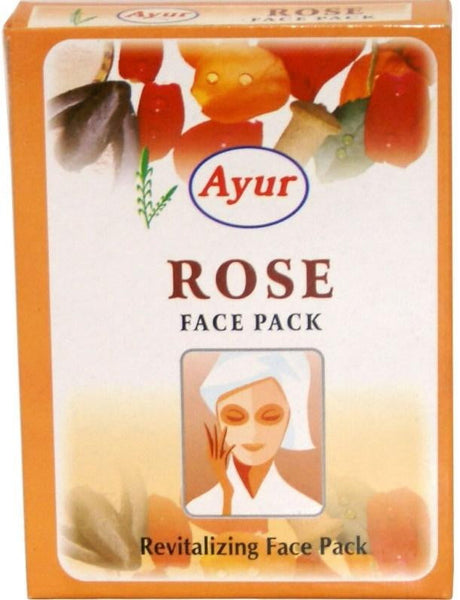 Ayur Rose Face Pack 100g - MandiBazaar