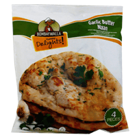 Bombaywala Garlic Butter Naan 4pc