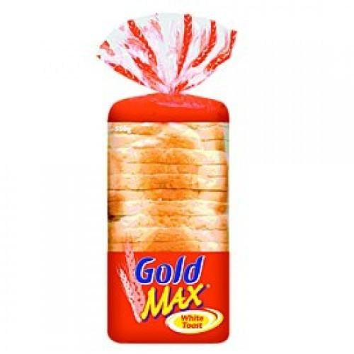 Gold Max White Toast Bread 750G