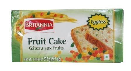 Britannia Eggless Fruit Cake 275g