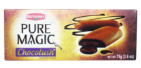 Britannia Pure Magic Chocolush Biscuit 75g - MandiBazaar