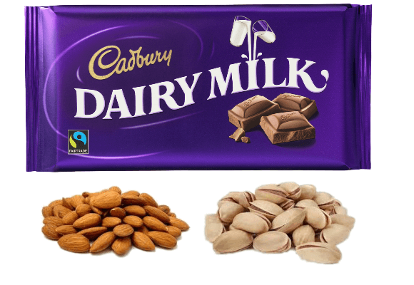 Cadbury Chocolate & Dry Fruit Diwali Treat
