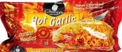 Chings Secret Hot Garlic Instant Noodles