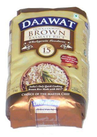 Daawat Brown Basmati Rice 1kg