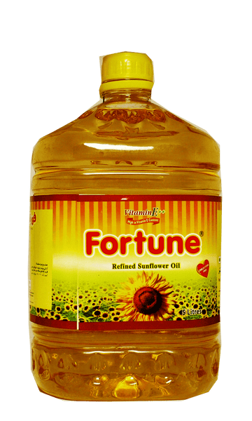 Fortune Refined Sunflower Oil 5L
