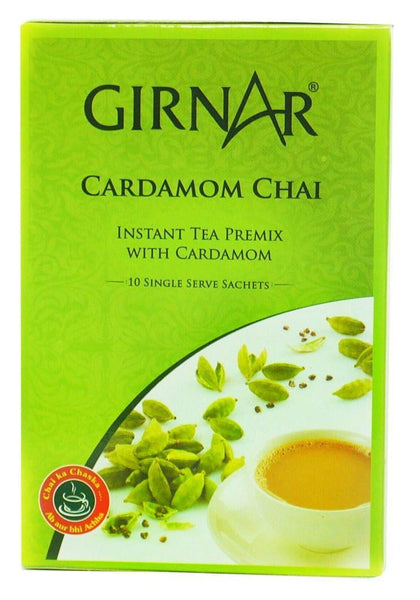 Girnar Cardamom Chai 10 Single Serve Sachets