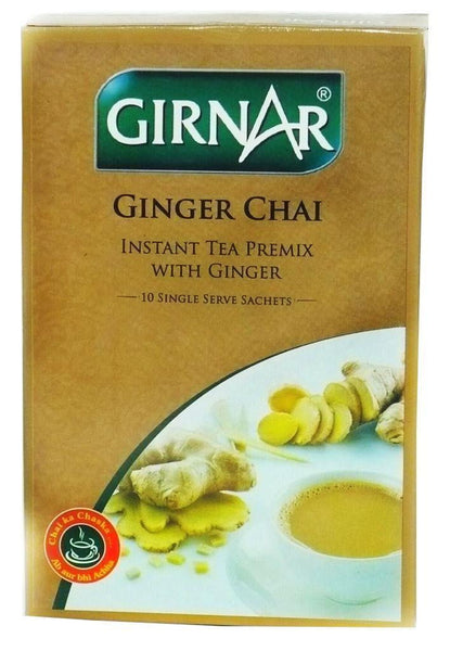 Girnar Ginger Chai 10 Single Serve Sachets