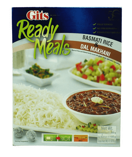 Gits Basmati Rice and Dal Makhani Combo 375g