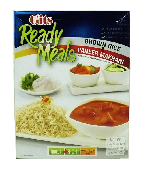 Gits Brown Rice & Paneer Makhani 375g