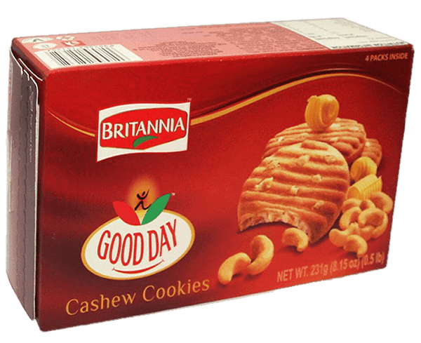 Britannia Good Day Cashew Cookies 230g