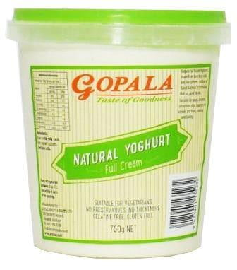Gopala Yoghurt Full Cream 750ml