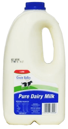 Green Valley Pure Dairy Milk Blue Top 2L