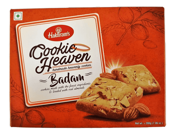 Haldiram Cookie Heaven Badam 200g