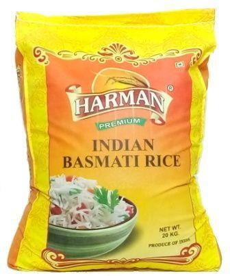 Harman Indian Basmati Rice 20kg