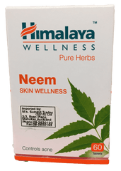 Himalaya Neem Skin Wellness 60 Tablets