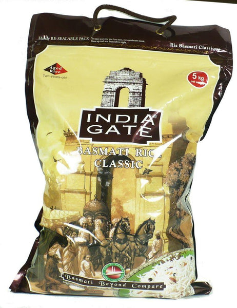 India Gate Classic Basmati Rice 5kg