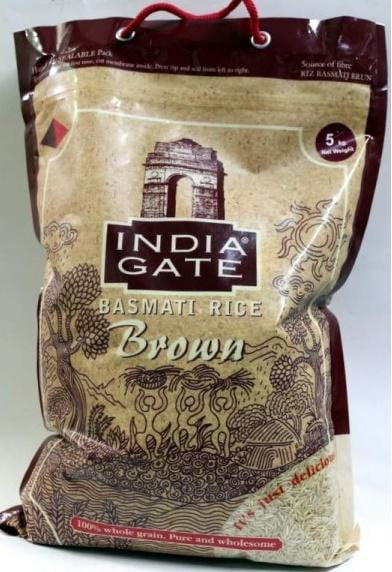 India Gate Basmati Rice Brown 5Kg