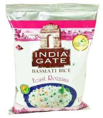 India Gate Feast Rozzana Basmati Rice 1kg