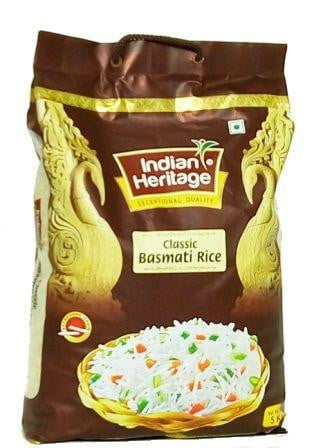 Indian Heritage Classic Basmati Rice 5kg
