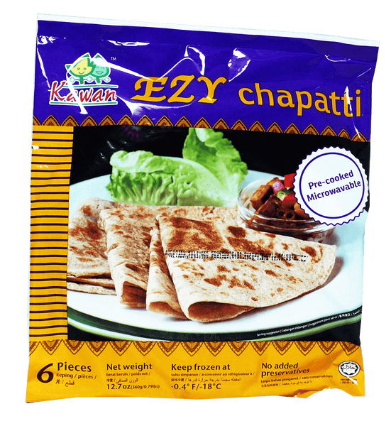 Kawan Ezy Chapati Pre-Cooked 6 Pieces