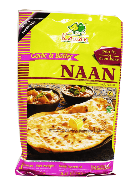 Kawan Garlic Butter Naan 3 Pieces