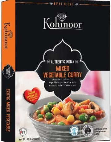 Kohinoor Mix Vegetable Curry 300g