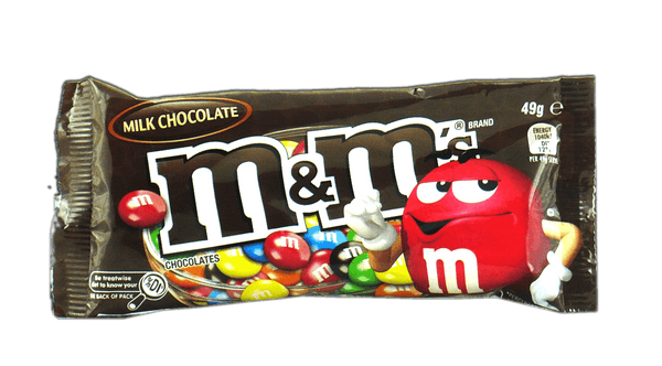 M & M 's Milk Chocolate 49g