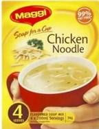 Maggi Soup for a cup Chicken Noodle 4 Serves