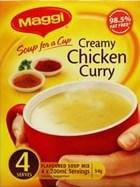 Maggi Soup for a cup Creamy Chicken Curry 4 Serves
