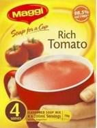 Maggi Soup for a cup Rich Tomato 4 Serves