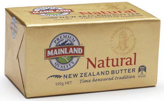 Mainland Butter Natural 500G