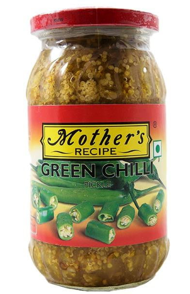 Mothers Recipe Green Chili Pickle 500g