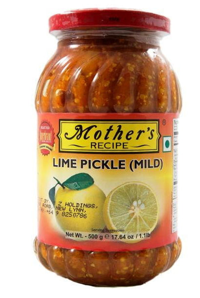 Mothers Recipe Lime Pickle (Mild) 500g